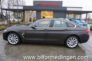 BMW 428 i xDrive Gran Coupé 245hk Luxury Line Connected Drive Navi Drag Svensksåld 2015