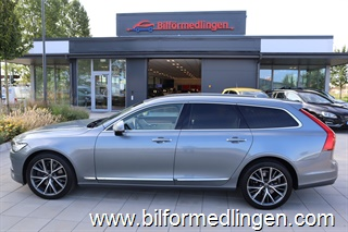 Volvo V90 T5 250hk Inscription Momsbil Aut Head up display Teknikpak VOC Drag Navigation Svensksåld 1 ägare 2018