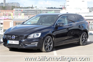 Volvo V60 D6 AWD Plug-in Hybrid Summum 2014