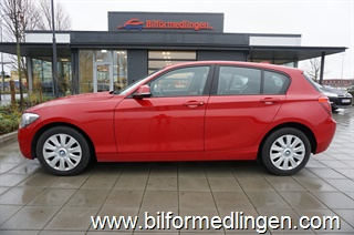 BMW 120 d 5dr, F20 184hk Business Aut Navi 2014