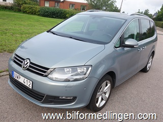 Volkswagen Sharan 2.0 TDI BlueMotion Technology 140hk Aut 7 sits Navi Dragkrok 2011