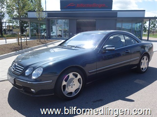Mercedes-Benz CL 600 500hk Exclusive Aut Skinn Navi 2004