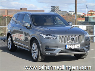 Volvo XC90 T5 AWD Inscription Momsbil 2018