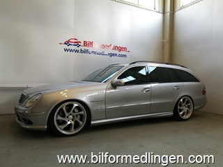 Mercedes-Benz E 55 AMG 500+ hk Avantgarde, Airmatic, Comand 2004
