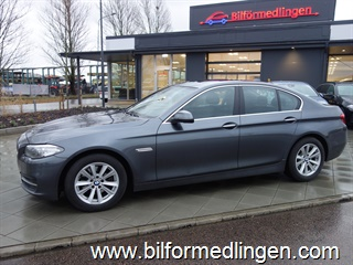 BMW 520 d xDrive Sedan Aut 190hk Connected Drive Navi Backkamera Svensksåld