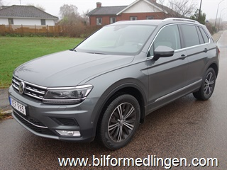 Volkswagen Tiguan 2.0 TDI 4MOTION 190hk DSG Executive GT Climatronic Dynamic Light Assist Rear Assist Dragkrok 2017