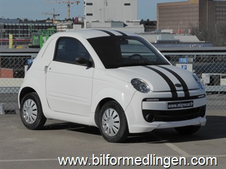 Microcar Due 0.5 Mopedbil 2016