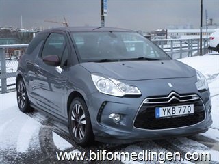 Citroën DS3 1.6 e-HDi Navi Bluetooth Skinn 2011