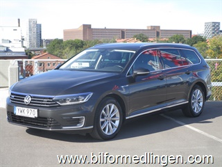 Volkswagen Passat GTE Executive Business Dragpaket Leasbar 2018