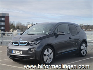 BMW i3 REX 94Ah, 170hk Connected Drive, Comfort Advanced 1 Ägare 2017