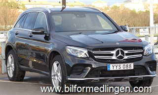 Mercedes-Benz GLC 350 e 4MATIC AMG Burmester Leasbar 2018