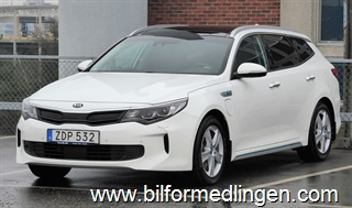 Kia Optima Plug-in Hybrid 205hk Plus 2 Panorama Skinn Momsbil 2018