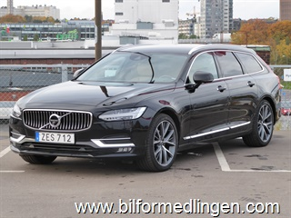 Volvo V90 D3 AWD Inscription Leasbar Dragkrok Svensksåld 2018