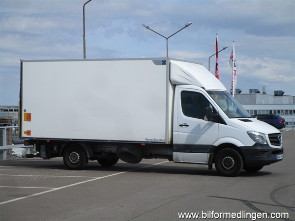 Mercedes-Benz Sprinter 316 CDI Pickup/Chassi 163hk Tempmatic 2016
