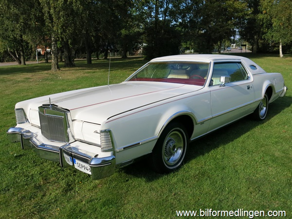 Lincoln Continental Mark IV 460 V8 7.5 L / Lipstick Edt. 1976