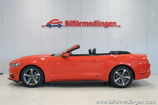 Ford Mustang 3.7 V6 304hk Convertible Cab Aut. 2015