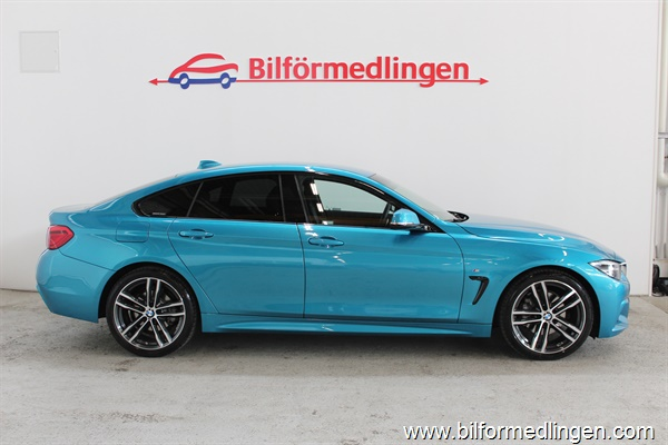 BMW 420 d Gran Coupé190hk M-Sport Connected Drive 2018